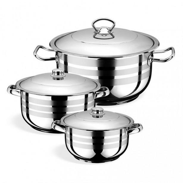Royal Junior Cookware Σετ Μαγειρέματος 3τεμ.