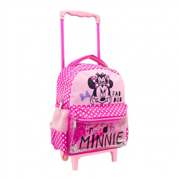 Disney Ροζ Νηπιακή Τσάντα Trolley 562670 Minnie Mouse Fab Duo