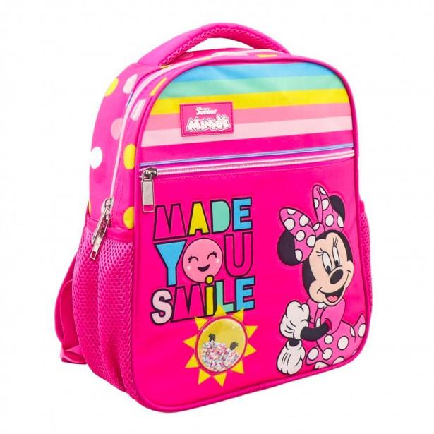 Disney Φούξια Νηπιακή Τσάντα Πλάτης Minnie Mouse Made You Smile